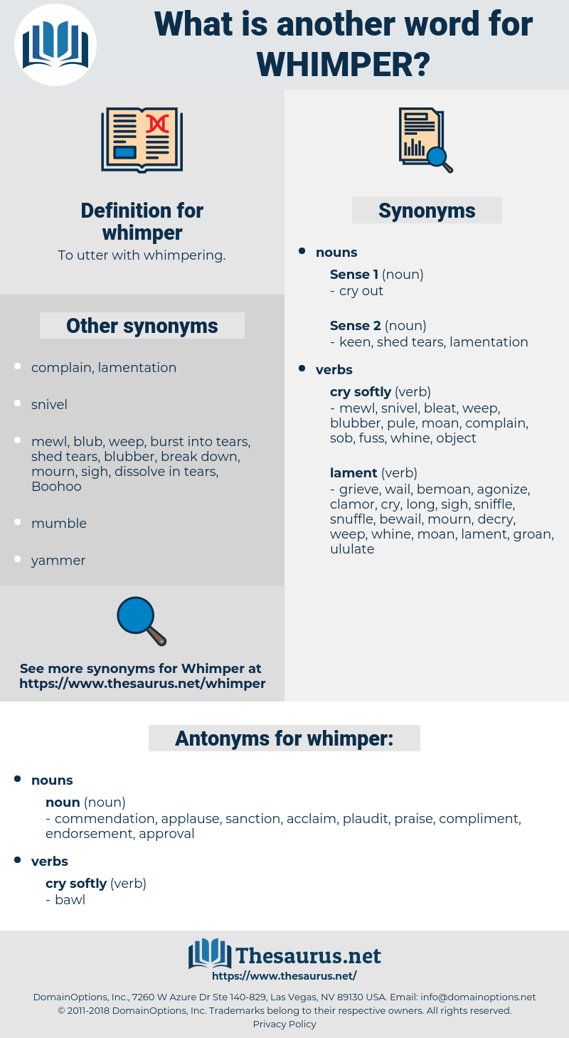 whimper, synonym whimper, another word for whimper, words like whimper, thesaurus whimper