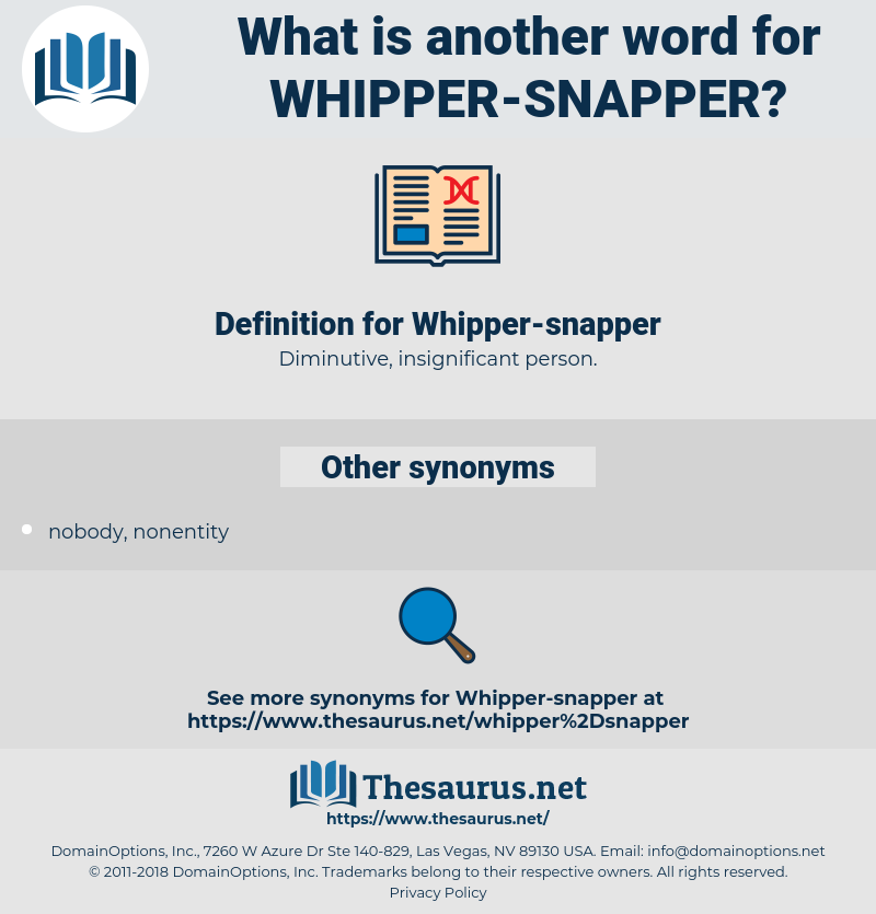 Whipper-snapper, synonym Whipper-snapper, another word for Whipper-snapper, words like Whipper-snapper, thesaurus Whipper-snapper