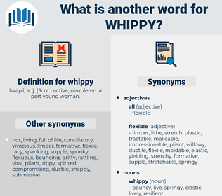 whippy, synonym whippy, another word for whippy, words like whippy, thesaurus whippy