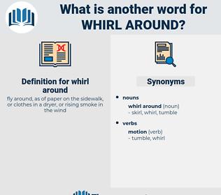 whirl around, synonym whirl around, another word for whirl around, words like whirl around, thesaurus whirl around
