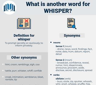 whisper, synonym whisper, another word for whisper, words like whisper, thesaurus whisper