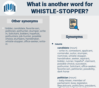 whistle-stopper, synonym whistle-stopper, another word for whistle-stopper, words like whistle-stopper, thesaurus whistle-stopper