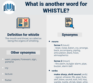 whistle, synonym whistle, another word for whistle, words like whistle, thesaurus whistle