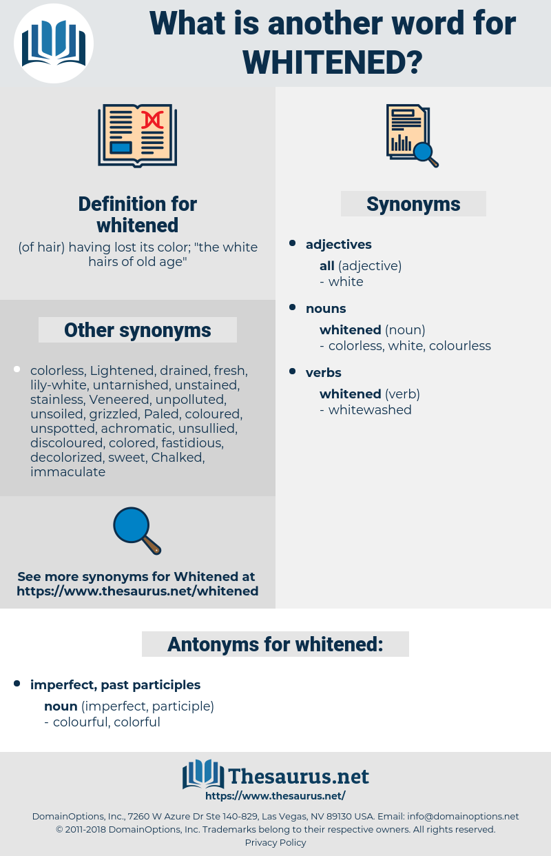 whitened, synonym whitened, another word for whitened, words like whitened, thesaurus whitened