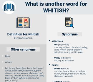 whitish, synonym whitish, another word for whitish, words like whitish, thesaurus whitish
