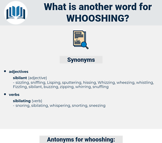 whooshing, synonym whooshing, another word for whooshing, words like whooshing, thesaurus whooshing