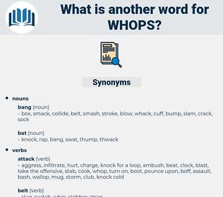 whops, synonym whops, another word for whops, words like whops, thesaurus whops