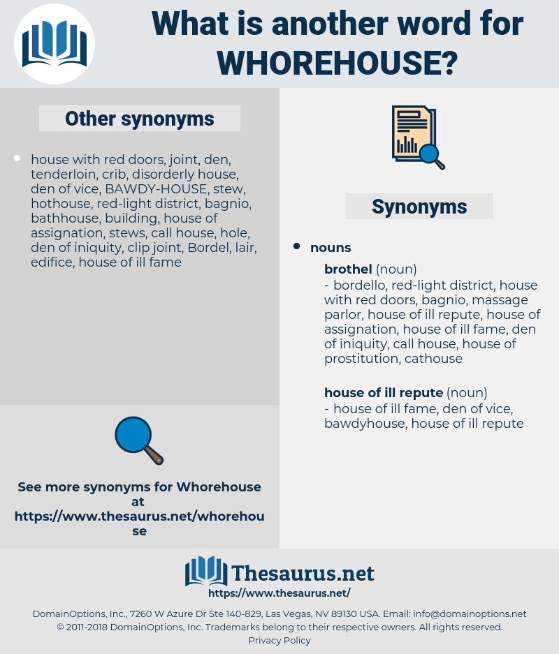 whorehouse, synonym whorehouse, another word for whorehouse, words like whorehouse, thesaurus whorehouse