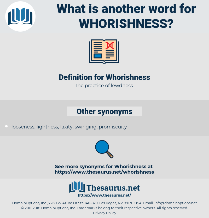 Whorishness, synonym Whorishness, another word for Whorishness, words like Whorishness, thesaurus Whorishness