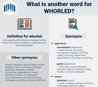 whorled, synonym whorled, another word for whorled, words like whorled, thesaurus whorled