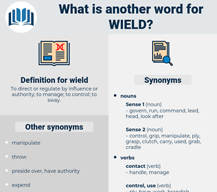 wield, synonym wield, another word for wield, words like wield, thesaurus wield