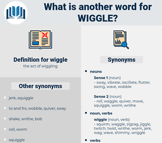 wiggle, synonym wiggle, another word for wiggle, words like wiggle, thesaurus wiggle