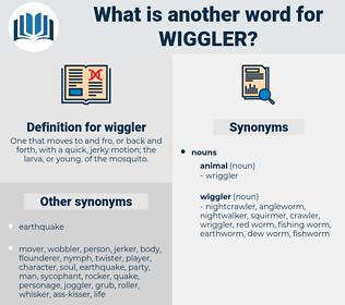 wiggler, synonym wiggler, another word for wiggler, words like wiggler, thesaurus wiggler