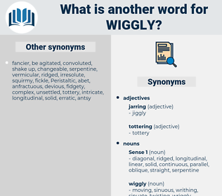 wiggly, synonym wiggly, another word for wiggly, words like wiggly, thesaurus wiggly