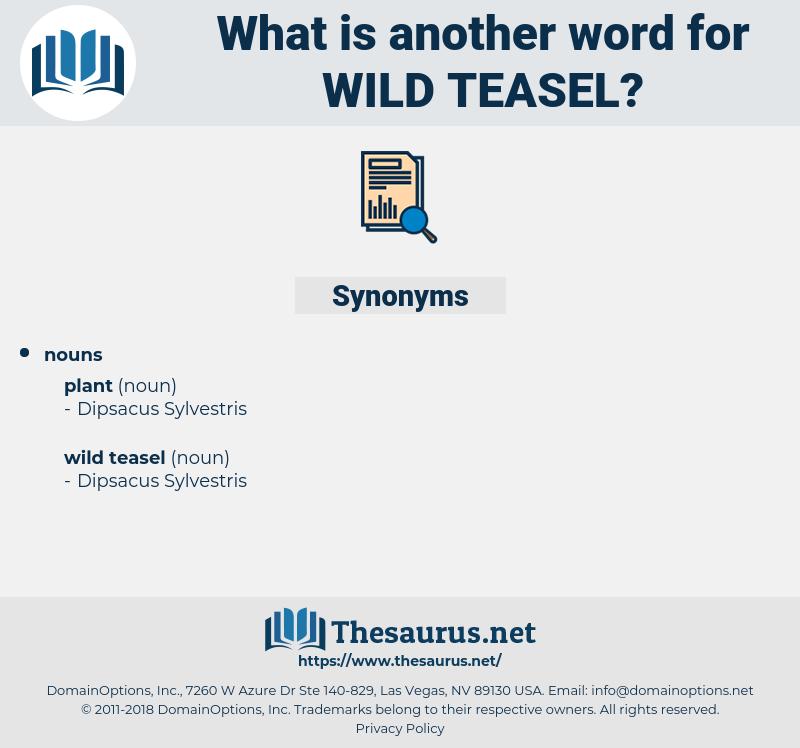wild teasel, synonym wild teasel, another word for wild teasel, words like wild teasel, thesaurus wild teasel