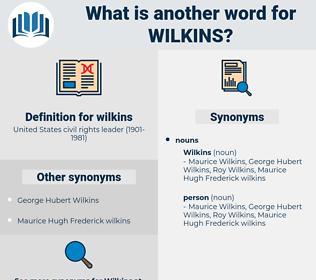 wilkins, synonym wilkins, another word for wilkins, words like wilkins, thesaurus wilkins