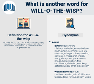 Will-o-the-wisp, synonym Will-o-the-wisp, another word for Will-o-the-wisp, words like Will-o-the-wisp, thesaurus Will-o-the-wisp