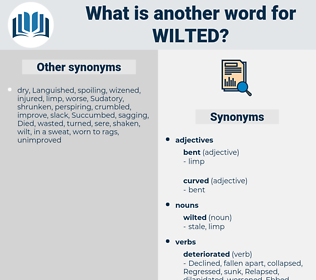 wilted, synonym wilted, another word for wilted, words like wilted, thesaurus wilted