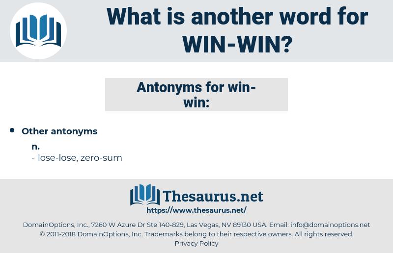 win-win, synonym win-win, another word for win-win, words like win-win, thesaurus win-win