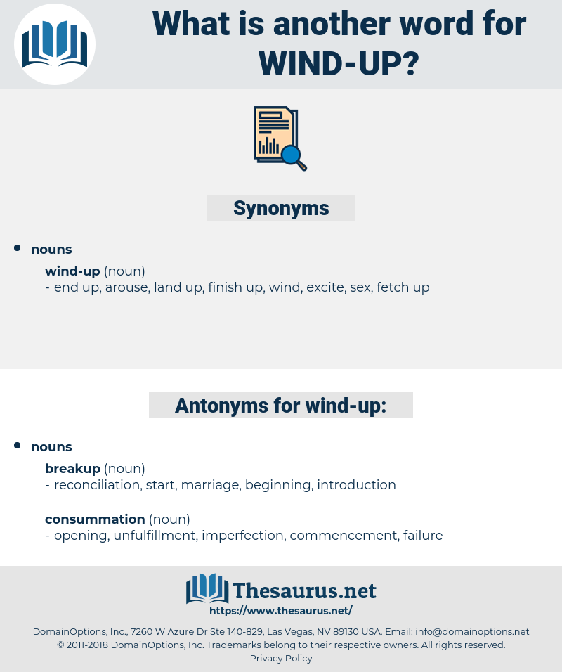 wind up, synonym wind up, another word for wind up, words like wind up, thesaurus wind up
