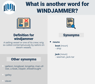 windjammer, synonym windjammer, another word for windjammer, words like windjammer, thesaurus windjammer