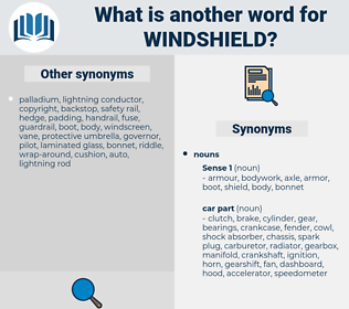 windshield, synonym windshield, another word for windshield, words like windshield, thesaurus windshield