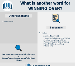 winning over, synonym winning over, another word for winning over, words like winning over, thesaurus winning over