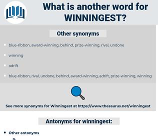 winningest, synonym winningest, another word for winningest, words like winningest, thesaurus winningest