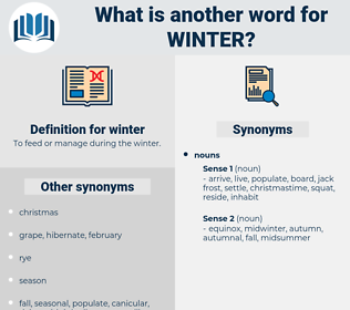 winter, synonym winter, another word for winter, words like winter, thesaurus winter