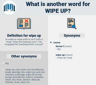 wipe up, synonym wipe up, another word for wipe up, words like wipe up, thesaurus wipe up
