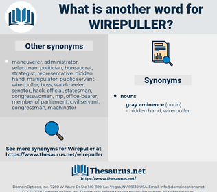 wirepuller, synonym wirepuller, another word for wirepuller, words like wirepuller, thesaurus wirepuller