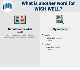 wish well, synonym wish well, another word for wish well, words like wish well, thesaurus wish well