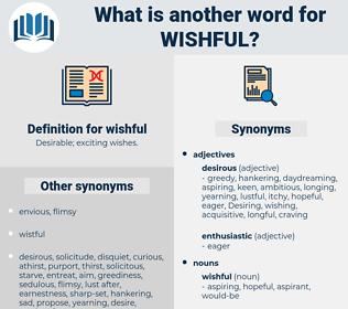 wishful, synonym wishful, another word for wishful, words like wishful, thesaurus wishful