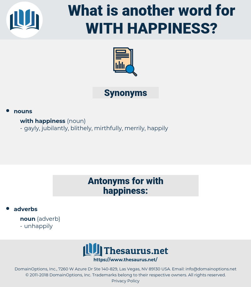 with happiness, synonym with happiness, another word for with happiness, words like with happiness, thesaurus with happiness