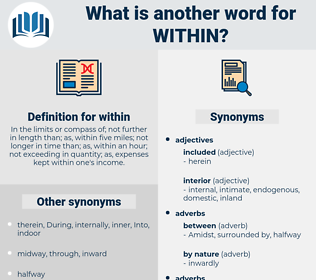 within, synonym within, another word for within, words like within, thesaurus within