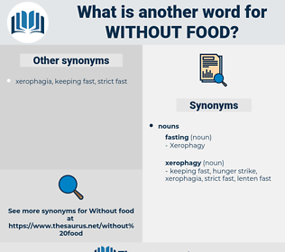 without food, synonym without food, another word for without food, words like without food, thesaurus without food