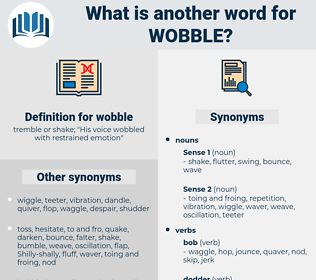 wobble, synonym wobble, another word for wobble, words like wobble, thesaurus wobble