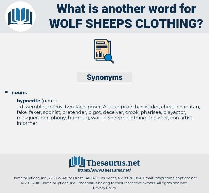 wolf sheeps clothing, synonym wolf sheeps clothing, another word for wolf sheeps clothing, words like wolf sheeps clothing, thesaurus wolf sheeps clothing