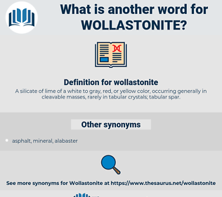 wollastonite, synonym wollastonite, another word for wollastonite, words like wollastonite, thesaurus wollastonite