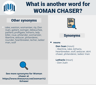 woman chaser, synonym woman chaser, another word for woman chaser, words like woman chaser, thesaurus woman chaser