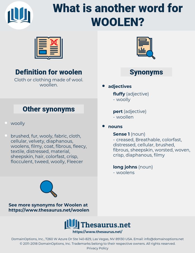 woolen, synonym woolen, another word for woolen, words like woolen, thesaurus woolen