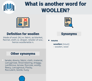 woollen, synonym woollen, another word for woollen, words like woollen, thesaurus woollen
