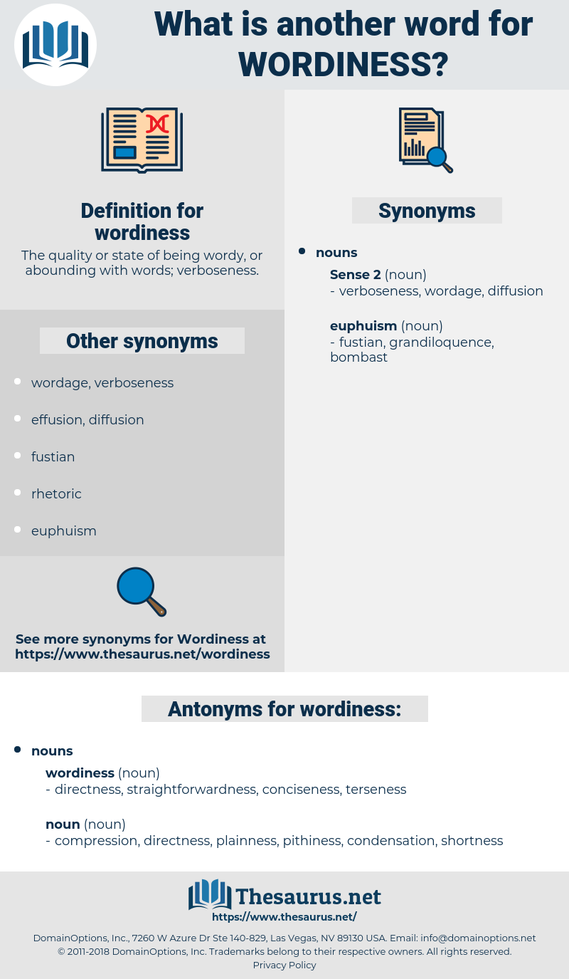 wordiness, synonym wordiness, another word for wordiness, words like wordiness, thesaurus wordiness