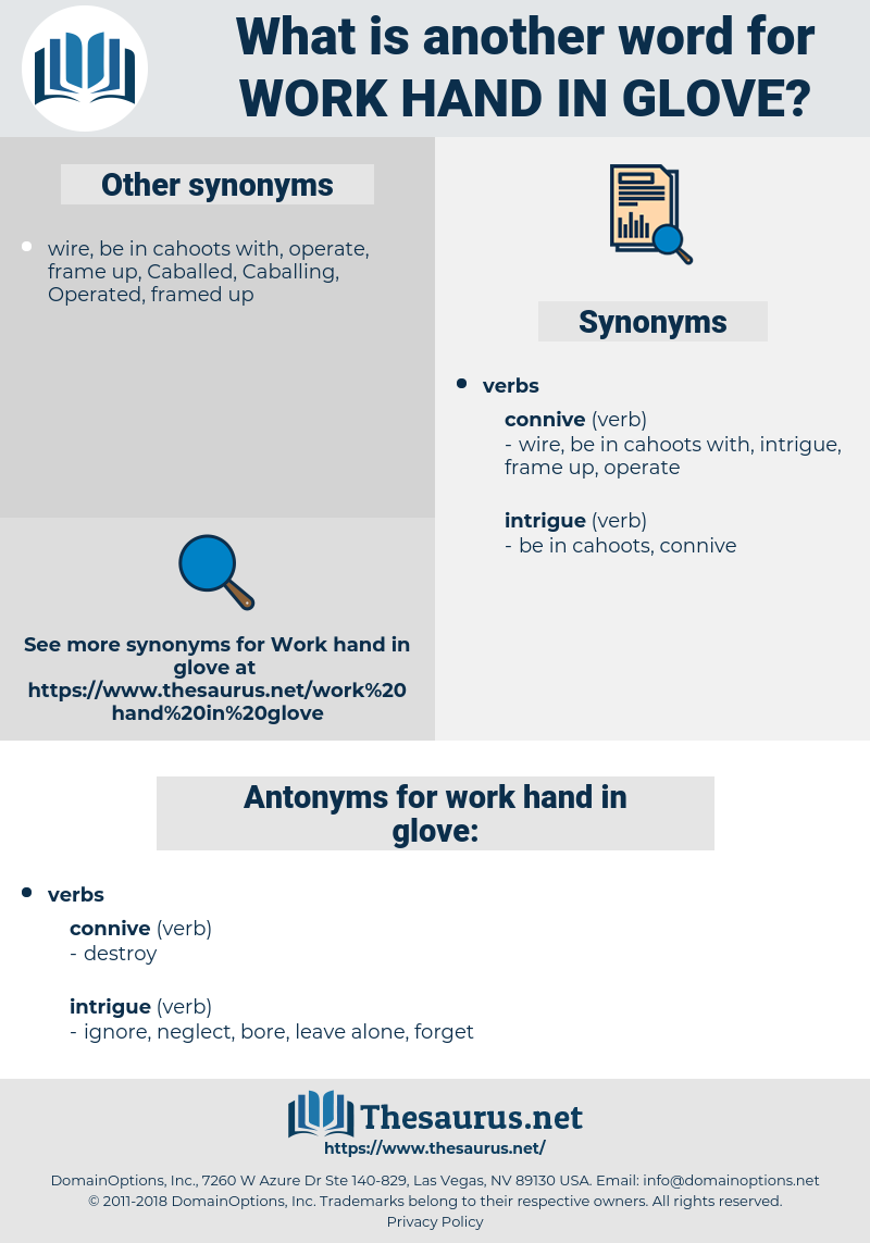 work hand in glove, synonym work hand in glove, another word for work hand in glove, words like work hand in glove, thesaurus work hand in glove