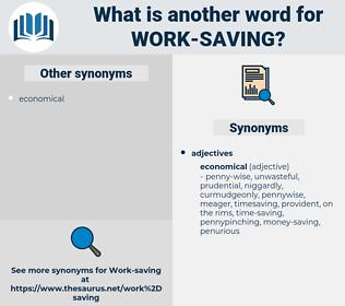 work-saving, synonym work-saving, another word for work-saving, words like work-saving, thesaurus work-saving