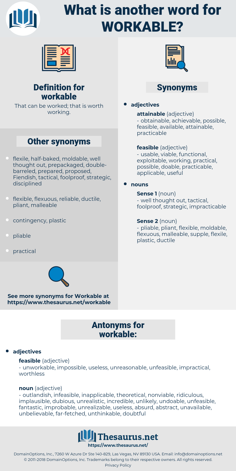 workable, synonym workable, another word for workable, words like workable, thesaurus workable
