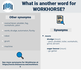 workhorse, synonym workhorse, another word for workhorse, words like workhorse, thesaurus workhorse