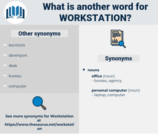 workstation, synonym workstation, another word for workstation, words like workstation, thesaurus workstation