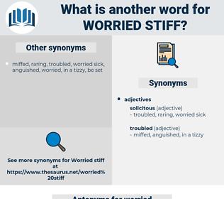 worried stiff, synonym worried stiff, another word for worried stiff, words like worried stiff, thesaurus worried stiff