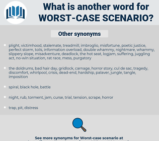 worst-case scenario, synonym worst-case scenario, another word for worst-case scenario, words like worst-case scenario, thesaurus worst-case scenario